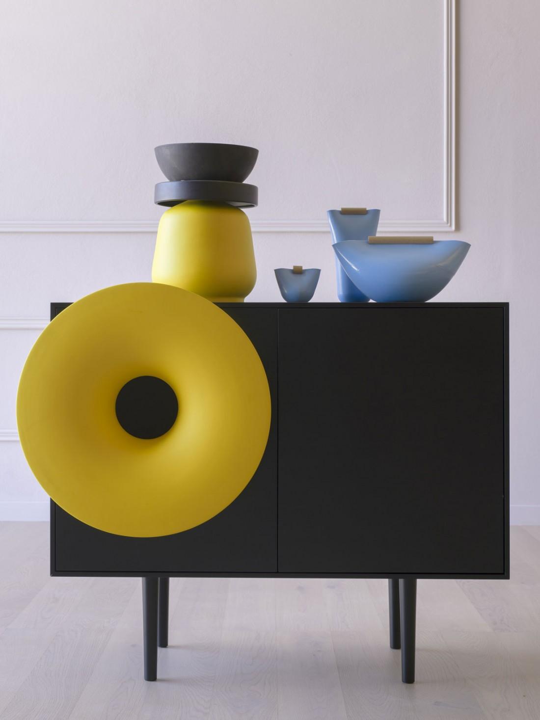 caruso, music cabinet by paolo cappello